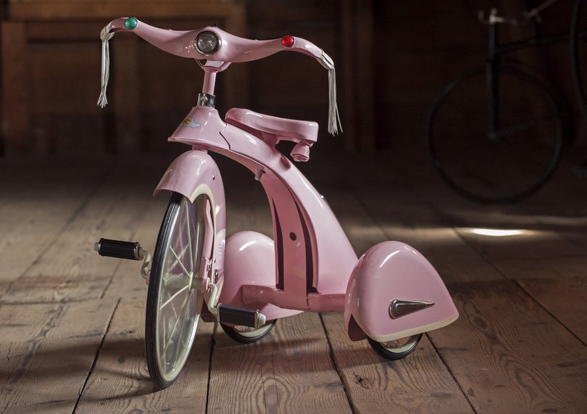 A tricycle from our vast collection of children's vehicles