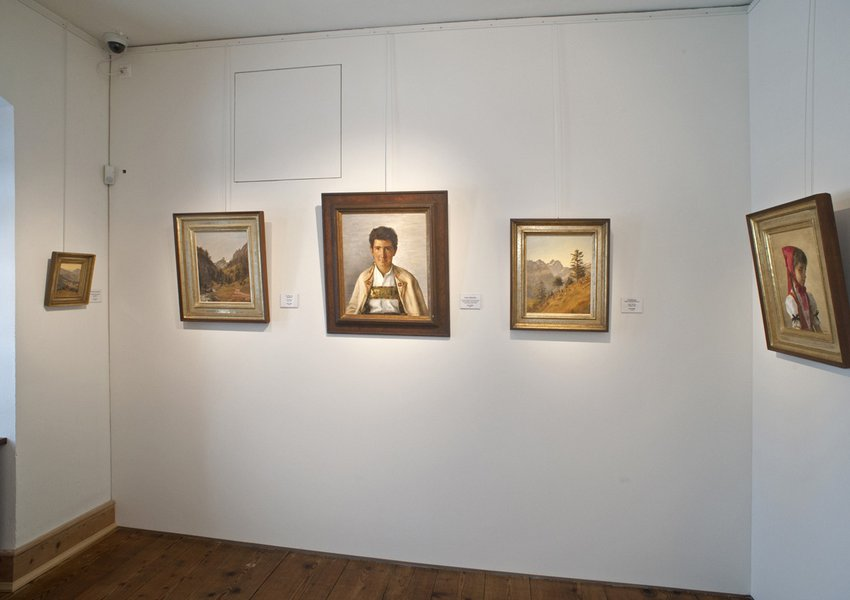 Selection of paintings by Hans Zeller