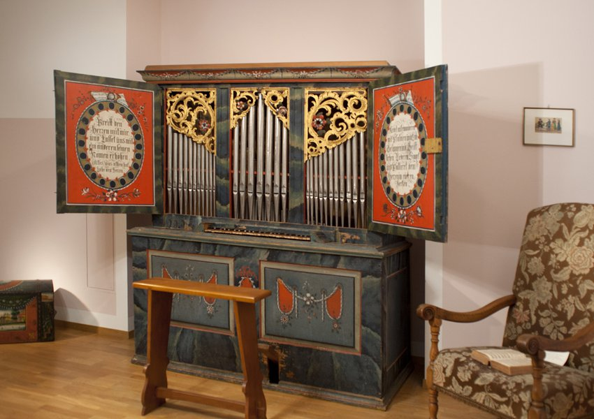 House organ from 1770, still used in concerts today